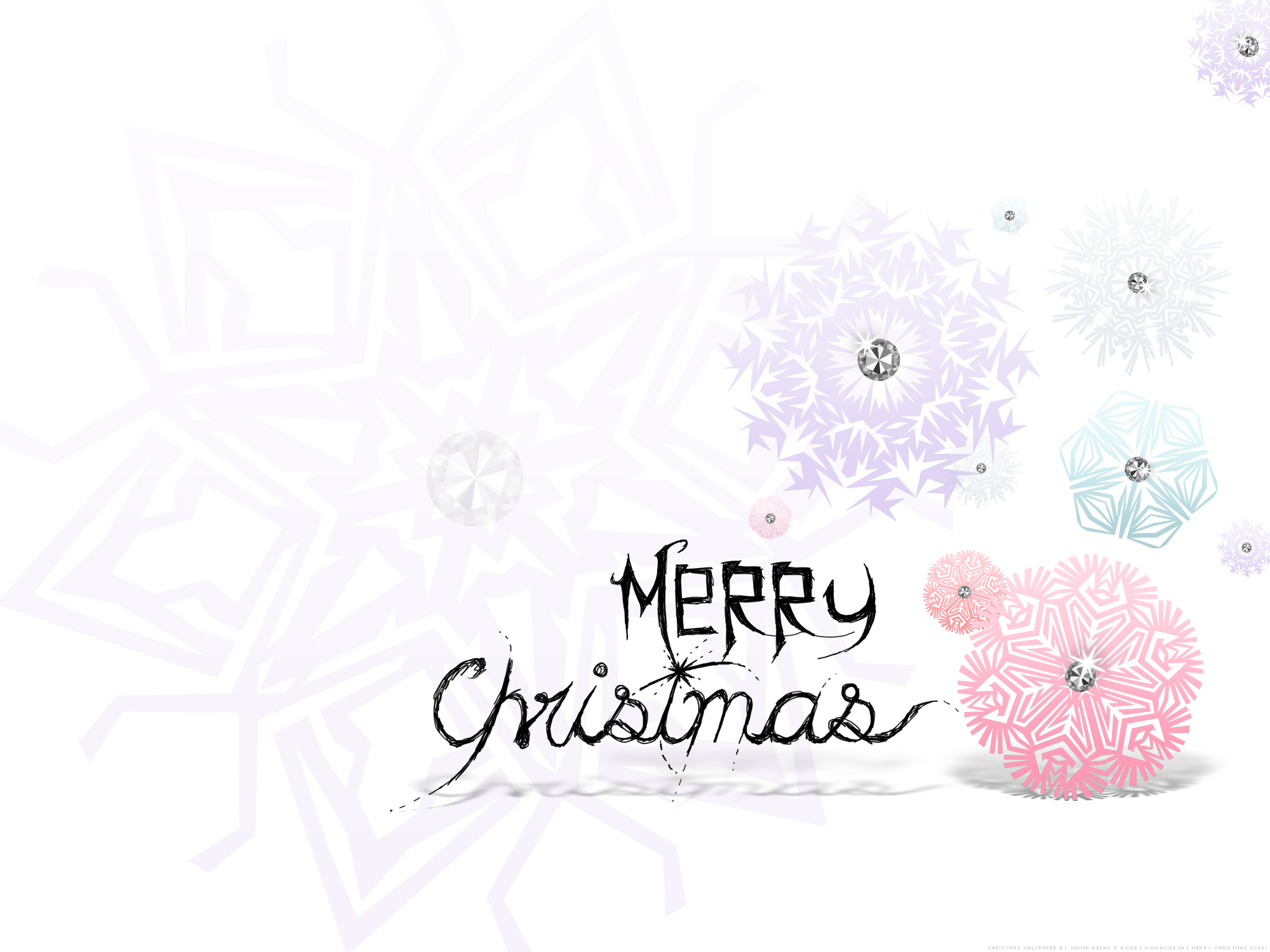 Christmas Computer Wallpaper.